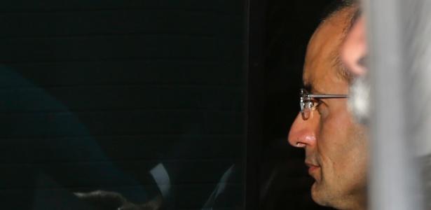 Marcelo Odebrecht, ex-presidente da construtora Odebrecht, chega à sede da Justiça Federal em Curitiba em fevereiro
