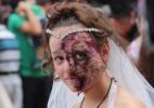 Zumbis invadem Carnaval em Curitiba - Jhansen Machado/Futura Press/Estadão Conteúdo