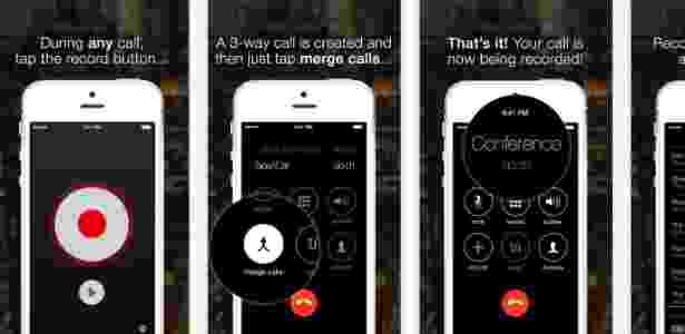 App de gravação de ligação telefônica TapeACall - Divulgação - Divulgação
