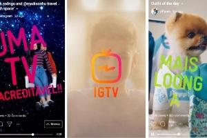 Vitória do vertical: Instagram aposta em vídeos de 1h em formato de celular (Foto: Divulgação/Instagram)