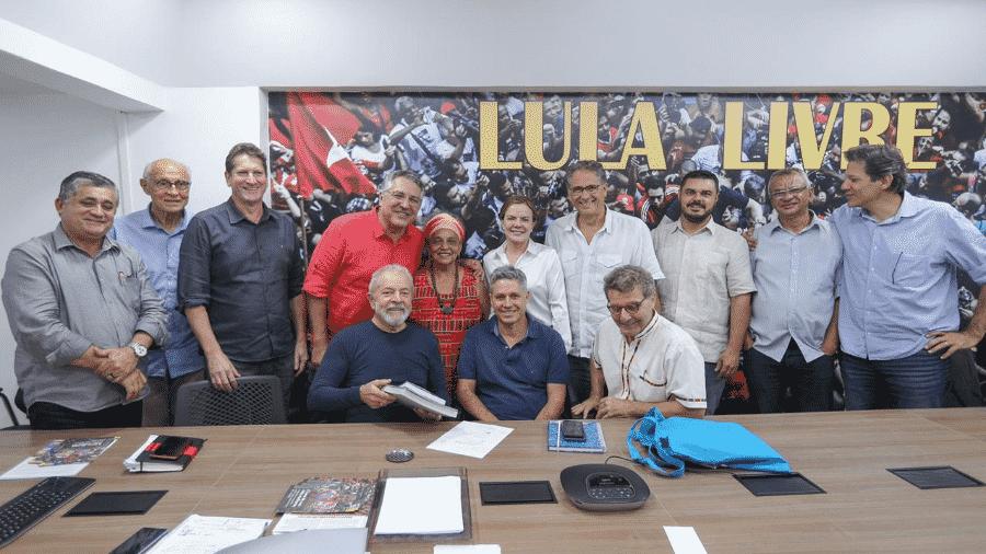 Pré-candidatos do PT à Prefeitura de São Paulo se reúnem com líderes do partido - Reprodução/Twitter