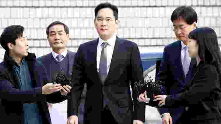 Jay Y. Lee teve um patrimônio estimado em US$7 bilhões, segundo a Forbes. - Getty Images - Getty Images