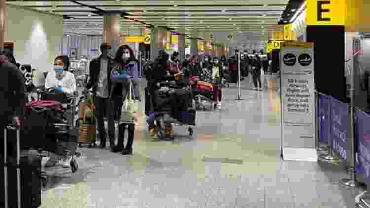 A repatriação de brasileiros se transformou em um dos principais desafios enfrentados pelo Itamaraty - Divulgação - Divulgação