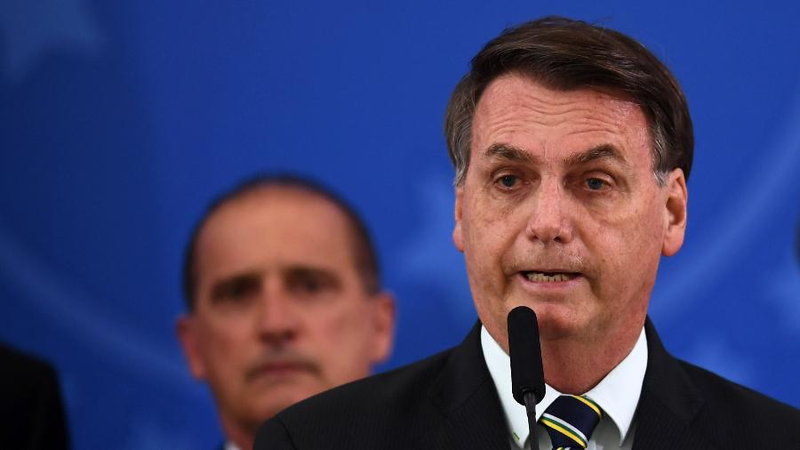 O presidente Jair Bolsonaro (sem partido) - EVARISTO SA / AFP