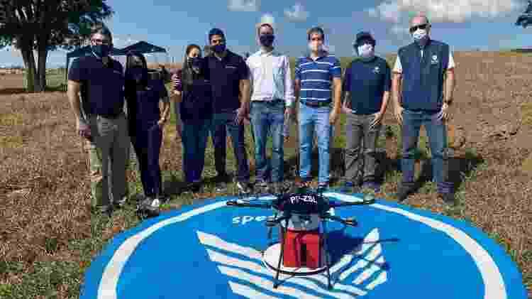 Teste de drone da Speedbird - Divulgação - Divulgação