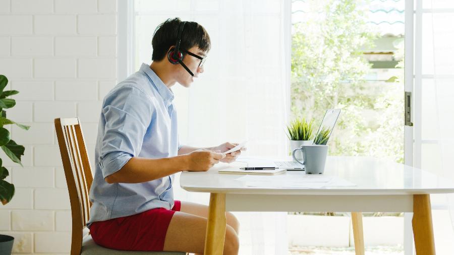 Entre os empregadores, 9,4% trabalhavam de forma remota em setembro - Freepik