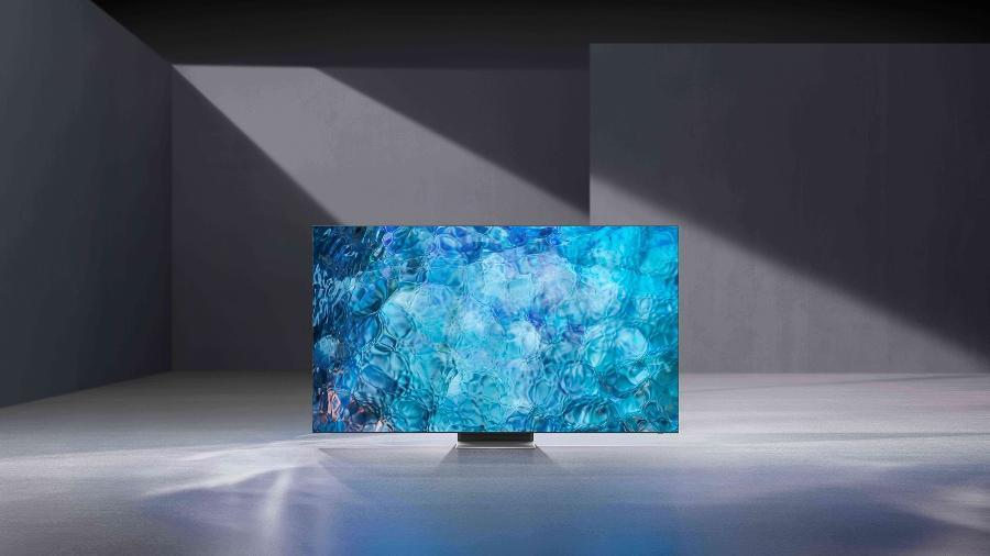 TV Neo QLED, da Samsung - Divulgação