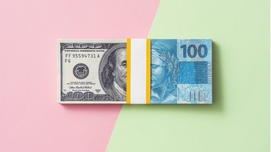 Real registrou forte desvalorização frente do dólar no ano passado - Getty Images