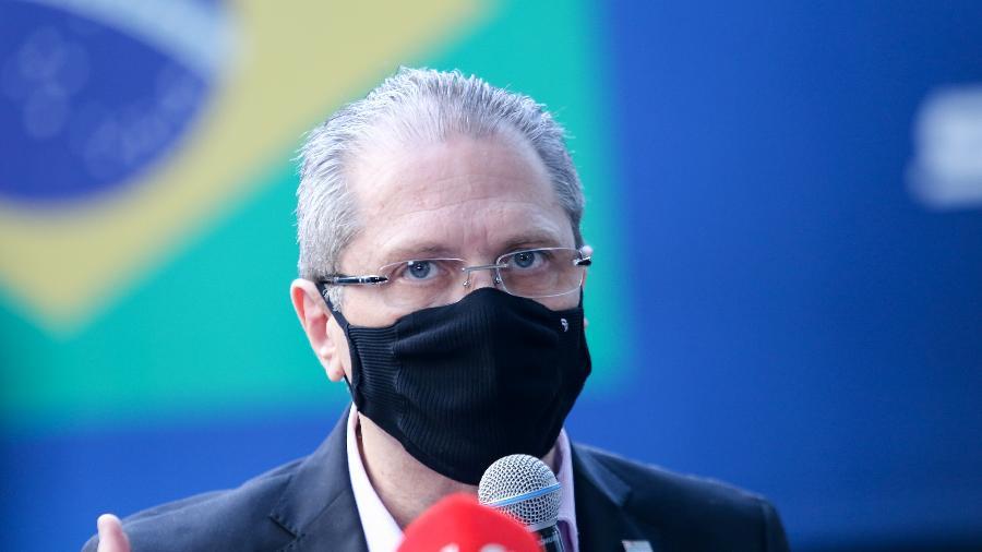 O número, segundo o secretário, significa quase 1.300 pacientes a menos no estado - Sergio Andrade/Governo do Estado de São Paulo