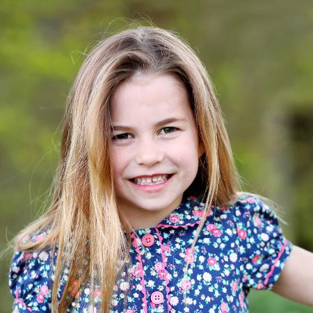 Princesa Charlotte, filha do príncipe William e da duquesa Kate, completou 6 anos no último domingo - Duchess of Cambridge/Reuters