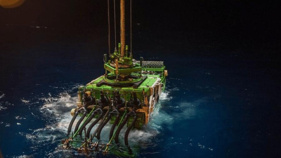 Patania II é um dos protótipos em desenvolvimento para a atividade mineradora no fundo do mar - GSR