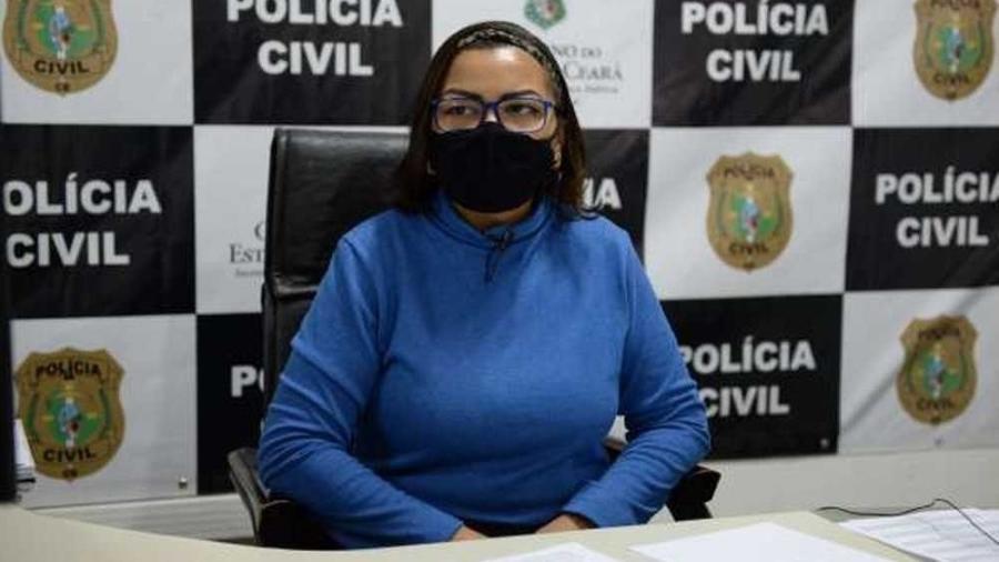 """Ana Paula Barroso teria sido barrada por funcionário sob alegação de """"questões de segurança"""" - PCCE/divulgação"""
