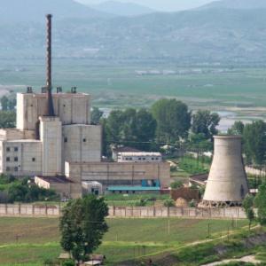 Usina nuclear norte-coreana de Yongyon, em foto de arquivo