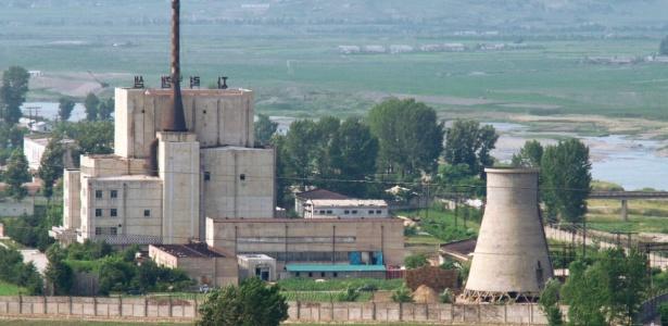 Usina nuclear em Yongbyon, em foto de arquivo