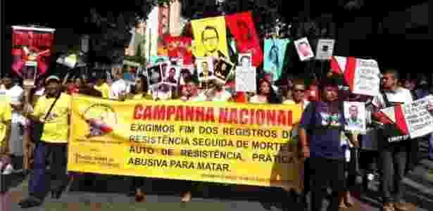 protesto - Mães de Maio/Divulgação - Mães de Maio/Divulgação