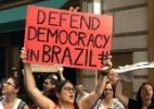 Reprodução/Twitter/@BrazilDemocracy