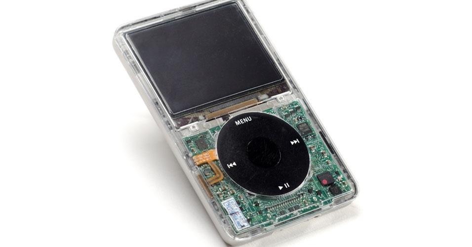 Leitor de música digital (2005). Esse é um dos objetos extintos que integram a enciclopédia virtual criada pela startup russa Thngs para eternizar tecnologias do passado
