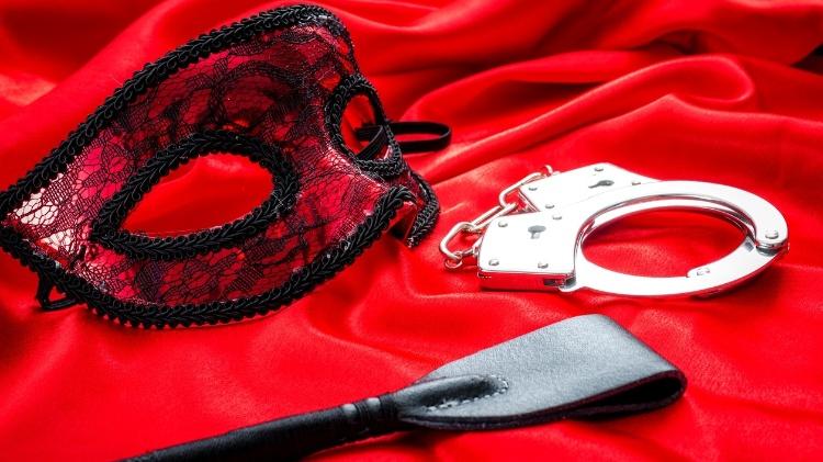 15.Feb.2017 - Illustrative image - fetish, mask, handcuff, sadomasochism - Getty Images/iStockphoto - Getty Images/iStockphoto