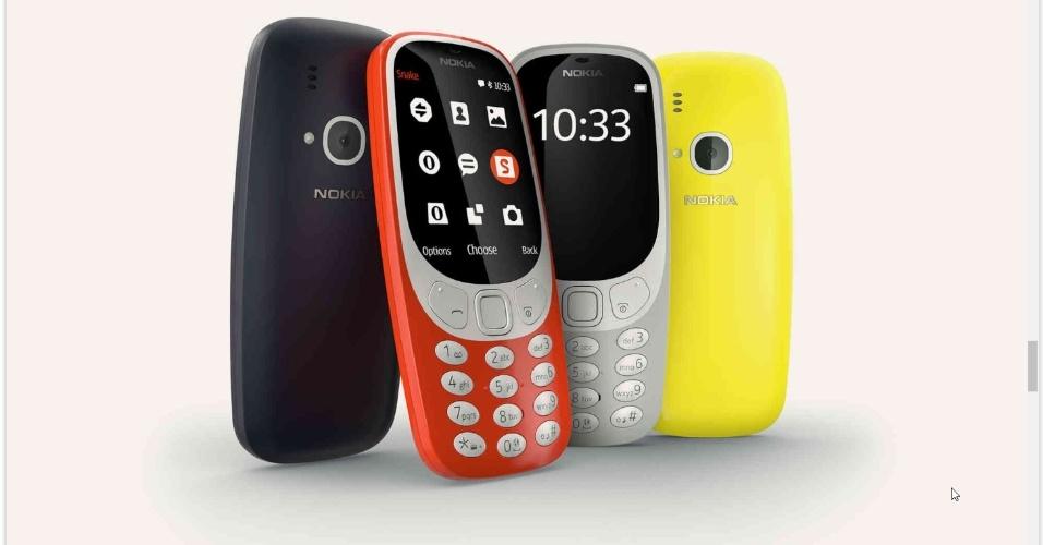 26.fev.2017 - O novo Nokia 3310