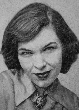 Retrato feito com cinzas de Emily Boxer