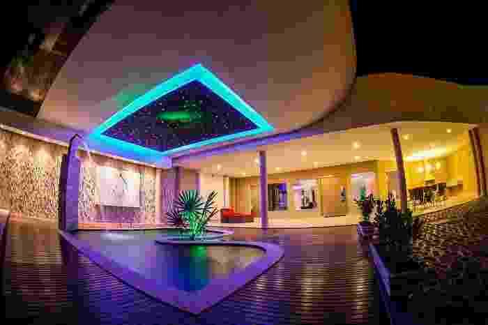 Eros Motel, em Mato Grosso, tem a suíte mais cara segundo o site Guia de Motéis - Divulgação