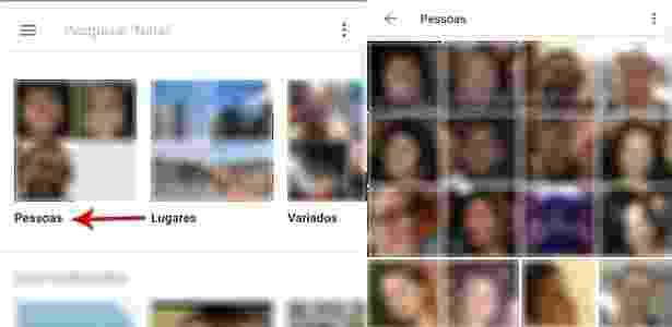 Como esconder todas as fotos com uma determinada pessoa no Google Fotos - UOL - UOL