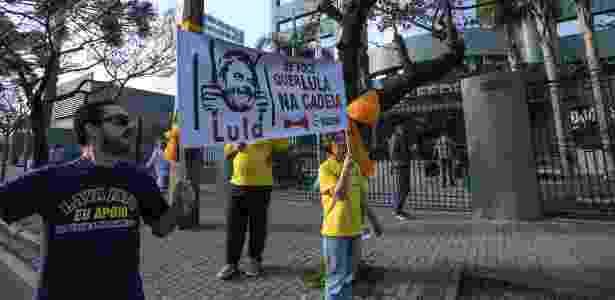 Protesto Curitiba - Geraldo Bubniak/AGB/Estadão Conteúdo - Geraldo Bubniak/AGB/Estadão Conteúdo