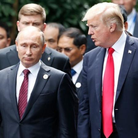 O presidente russo Vladimir Putin e o líder dos EUA Donald Trump  - AFP