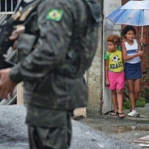 A Polícia Militar intensificou o patrulhamento na região de São Gonçalo, na região metropolitana - AFP Photo/Foto ilustrativa