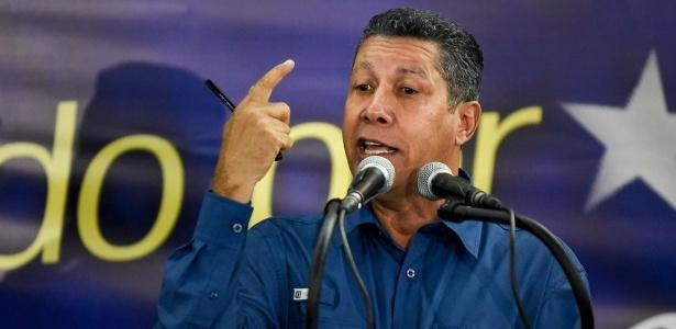 Henri Falcón, ex-candidato à presidência da Venezuela - AFP