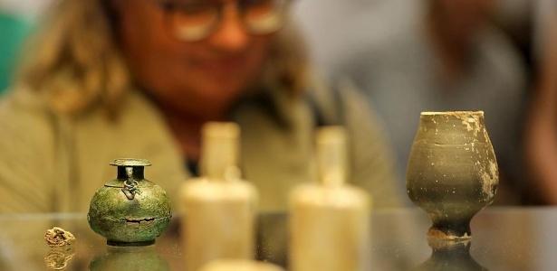 Romana foi enterrada com frascos de perfume - picture-alliance/dpa/O. Berg