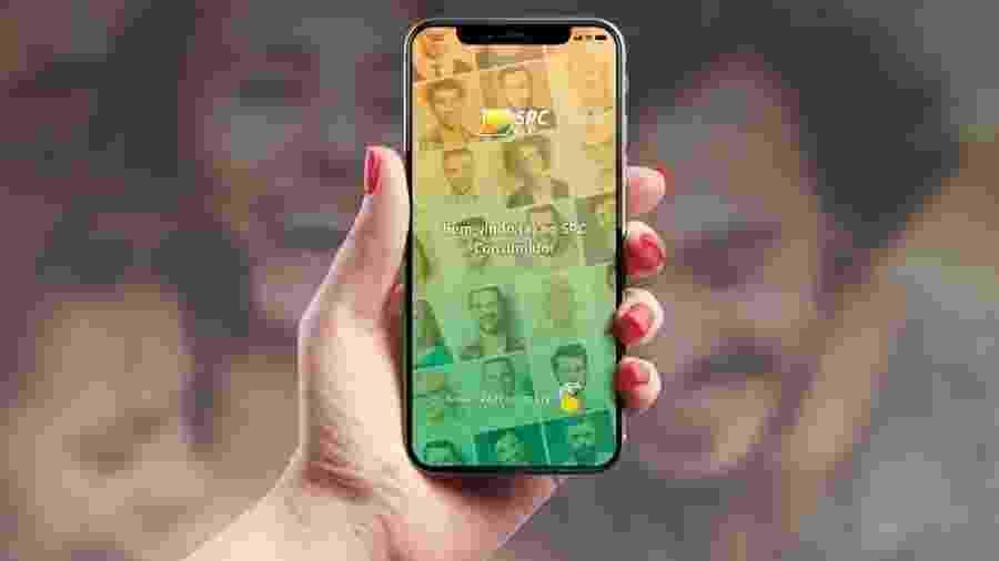 Tela do app SPC Consumidor, que faz autoavaliação financeira - Divulgação