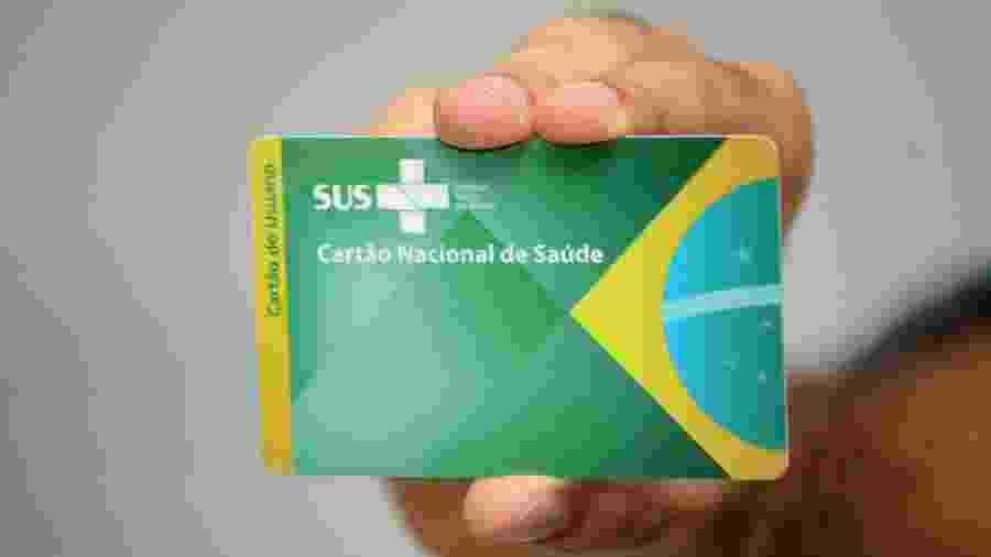 Cartão do Sistema Único de Saúde - Divulgação