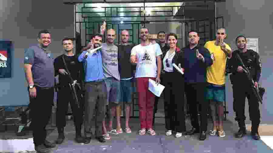 Brigadistas de Alter do Chão (PA) são soltos após prisão - Twitter Brigada Alter do Chão
