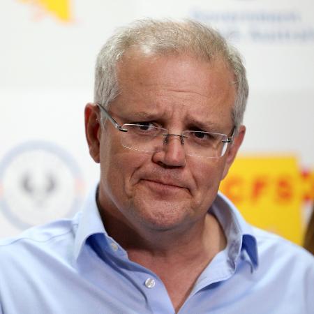 Primeiro-ministro da Austrália culpou a União Europeia pelo atraso da campanha de vacinação no país - Kelly Barnes/AAP Image via Reuters