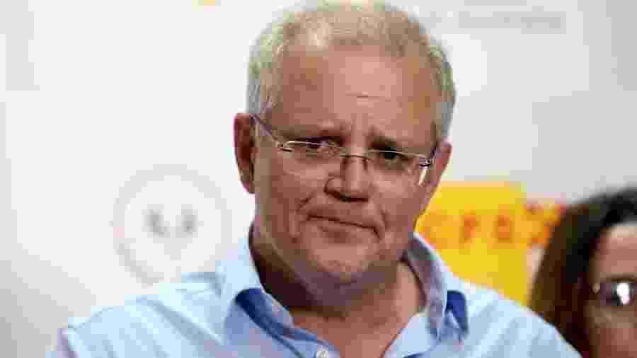 Scott Morrison, primeiro-ministro da Austrália - Kelly Barnes/AAP Image via Reuters