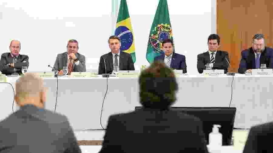 Reunião ministerial 22 de abril - Marcos Corrêa/PR