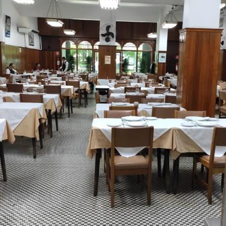 Salão do restaurante Itamarati, em São Paulo, que deve fechar as portas - Arquivo pessoal