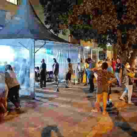 Central de Atendimento Funerário também teve fila e aglomeração - Luis Magnário/Arquivo Pessoal - Luis Magnário/Arquivo Pessoal