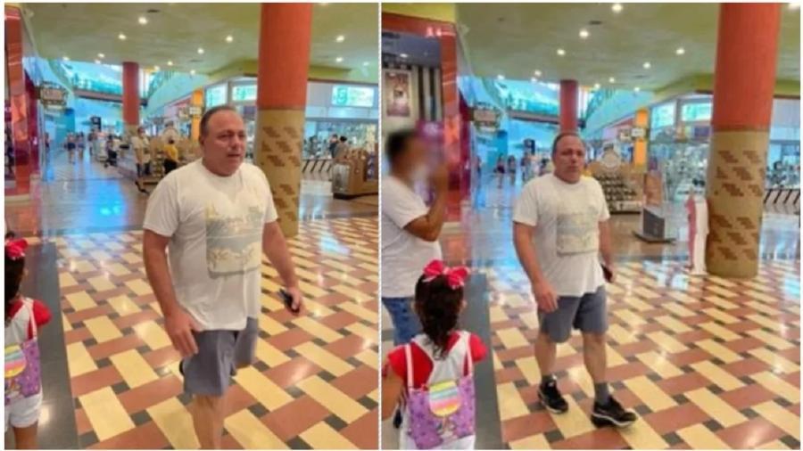 General Pazuello desfila sem máscara no Shopping Manauara, em Manaus, no dia 25 de abril. Cuidou do Ministério da Saúde com igual zelo... - Jaqueline Bastos/Arquivo Pessoal
