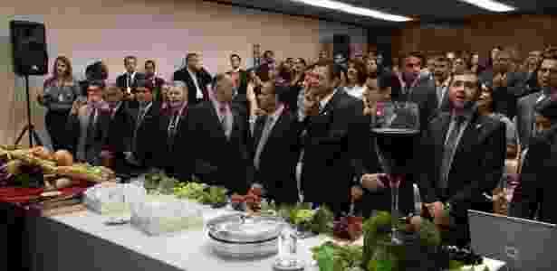 Culto com a presença de deputados da Frente Parlamentar Evangélica - Frente Parlamentar Evangélica/Divulgação