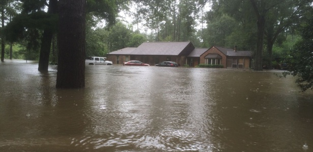 A casa do pastor Tony Perkins, no Estado da Louisiana, nos EUA