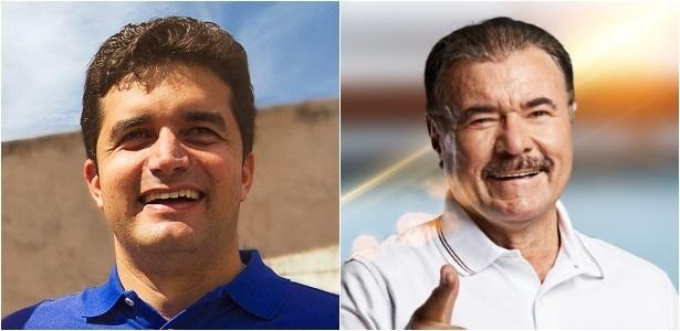 Rui Palmeira e Cícero Almeira concorrem à prefeitura de Maceió