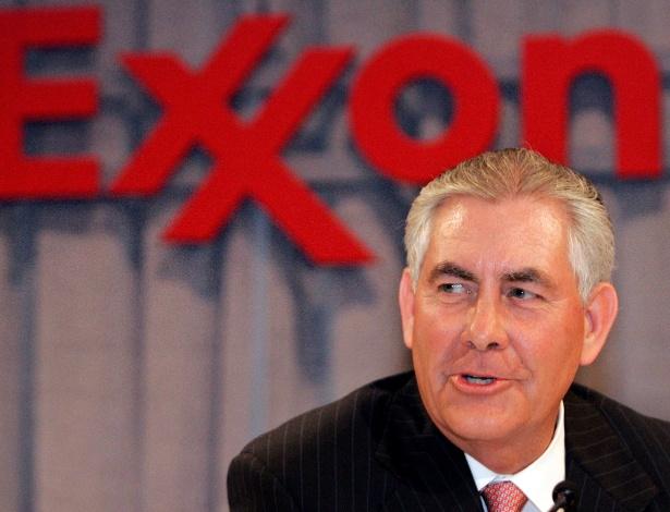 Rex Tillerson é CEO do gigante petrolífero Exxon Mobil