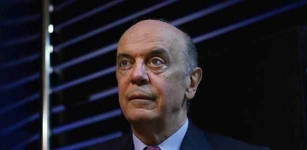 19.mai.2017 - O nome de José Serra apareceu nas delações de Joesley Batista