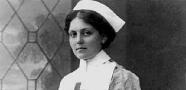 Violet Constance chegou a trabalhar como enfermeira da Cruz Vermelha em uma das embarcações  - Violet Jessop / Governo Britânico