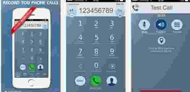App de gravação de ligação telefônica Call Recorder - Divulgação - Divulgação