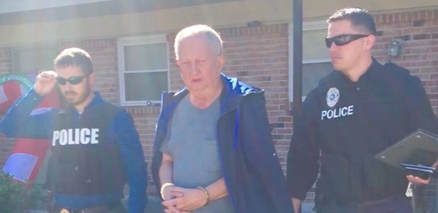 """Polícia de Slidell (EUA) prende Michael Neu, responsável por fraude do """"príncipe nigeriano"""" que pedia dinheiro a internautas - Divulgação/Facebook Slidell Police Department"""