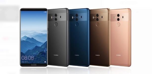 e8ce378950e Rumores dizem que o Huawei Mate 20 terá este visual, será? Imagem:  Reprodução