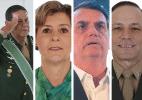 Bolsonarismo e planos de bancada estimulam candidatos das Forças Armadas - Arte/UOL
